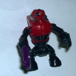 Mega Bloks Halo covenant grunt red black figure #1